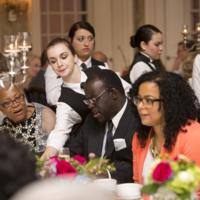 Guests at Nat Fuller's Feast event, photograph by Jonathan Boncek, Charleston, South Carolina, April 19, 2015.