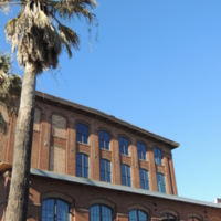 Exterior of Cigar Factory, photograph by Harry Egner, Charleston, South Carolina, February 2015.