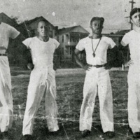 Four athletic coaches, Charleston, South Carolina, 1939, courtesy of the Avery Research Center.