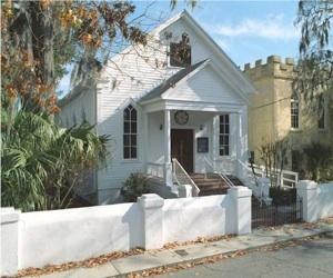 Beth Israel Synagogue, Beaufort, South Carolina, ca. 2000s, courtesy of Beth Israel Congregation.