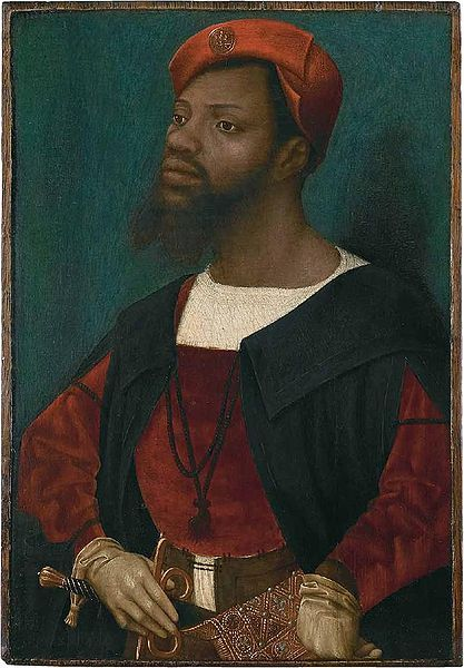 <em>Portrait of an African Man</em>, painting by Jan Mostaert, ca. 1525-1520, courtesy of Rijksmuseum Amsterdam.