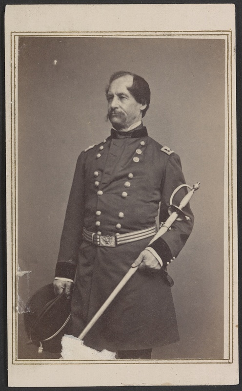 Major General David Hunter, ca. 1862, photograph by Brady's National Photographic Portrait Galleries, courtesy of Library of Congress Prints and Photographs Division.