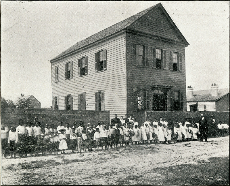 Boys Industrial School, Charleston, South Carolina, 1901, <em>Prospectus of the Charleston Industrial School</em>, courtesy of Dart Family Papers,&nbsp;Avery Research Center.