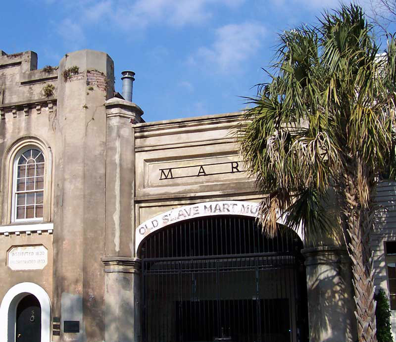 Old Slave Mart Museum, photograph by Jane Aldrich, Charleston, South Carolina, ca. 2000.