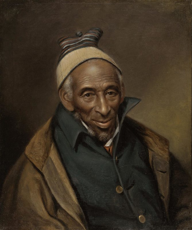 <em>Portrait of Yarrow Mamout</em> (Muhammad Yaro), Charles Wilson Peale, 1819, courtesy of the Philadelphia Museum of Art.