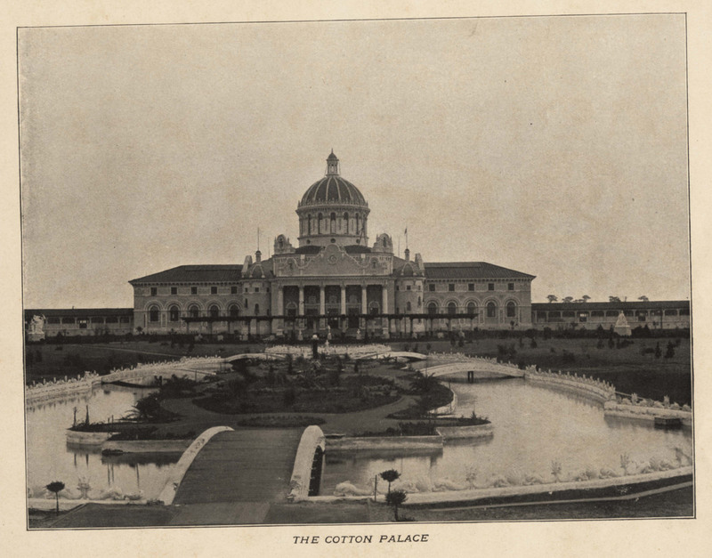 Cotton Palace, <em>Charleston and its Exposition</em>, Charleston, South Carolina, ca. 1902, courtesy of the College of Charleston Special Collections.&nbsp;