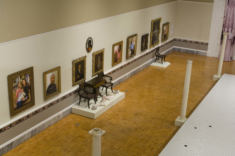 View of <em>Famous Last Names</em> installation, photograph by Rick Rhodes, Charleston, South Carolina, 2009, courtesy of Gibbes Museum of Art.