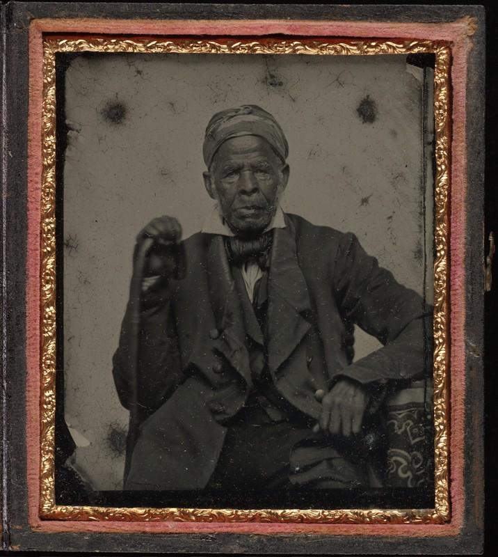 Portrait of Omar Ibn Said, circa 1850, courtesy of Beinecke Rare Book & Manuscript Library.