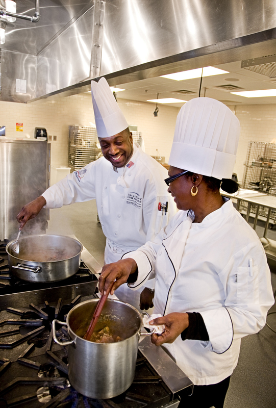 Kevin Mitchell, photograph by Trident Technical College, 2009, courtesy of the Culinary Institute of Charleston.