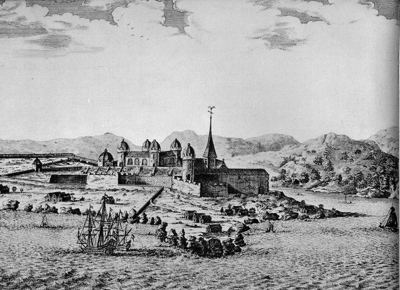 Elmina Castle, West Africa, 1668.