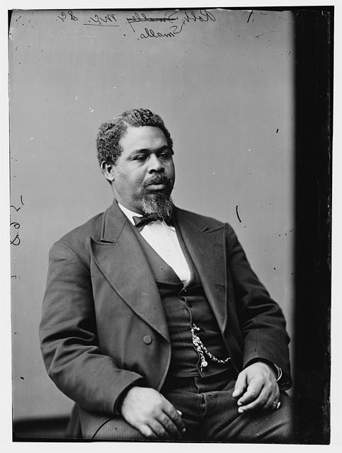 Robert Smalls, Beaufort, South Carolina, ca. 1875, courtesy of Library of Congress Prints and Photographs Division.
