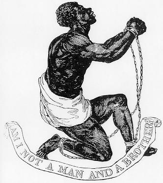 """""""Am I Not A Man And A Brother?,"""" 1787, courtesy of the Library of Congress."""