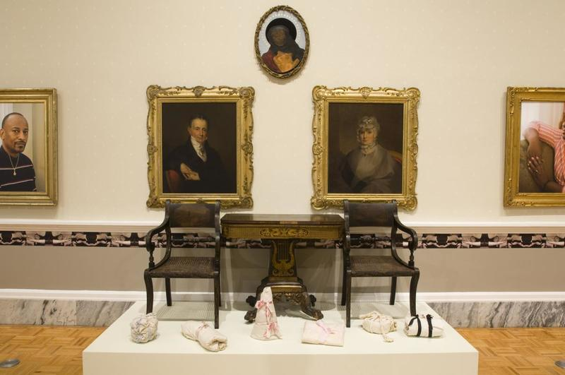 Famous Last Names, photograph by Rick Rhodes, Charleston, South Carolina, 2009, courtesy of Gibbes Museum of Art.