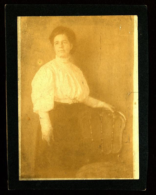 Mabel Pollitzer portrait, ca.1904-06, Anita Pollitzer Family Papers, South Carolina Historical Society.