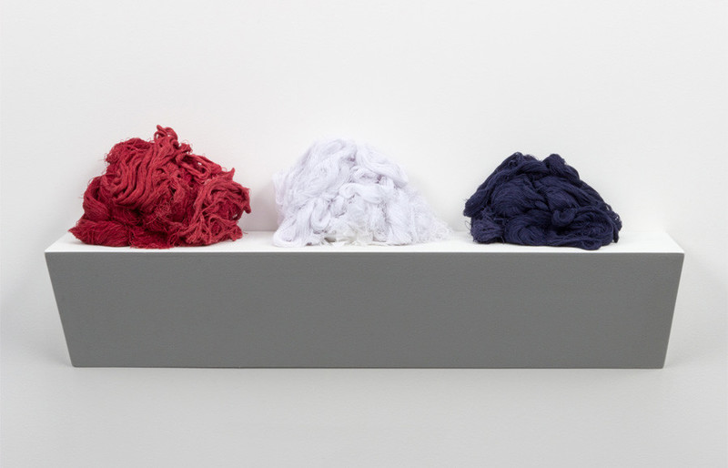 """<em>Unraveled</em> from """"The Things We Carry,"""" Sonya Clark, photograph by <span>Taylor Dabney,&nbsp;</span>Charleston, South Carolina, 2015, courtesy of the Gibbes Museum of Art."""