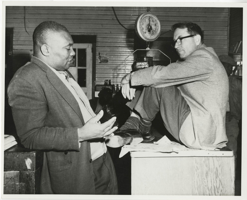 Esau Jenkins and Myles Horton, Charleston, South Carolina, Esau Jenkins Papers, courtesy of the Avery Research Center.