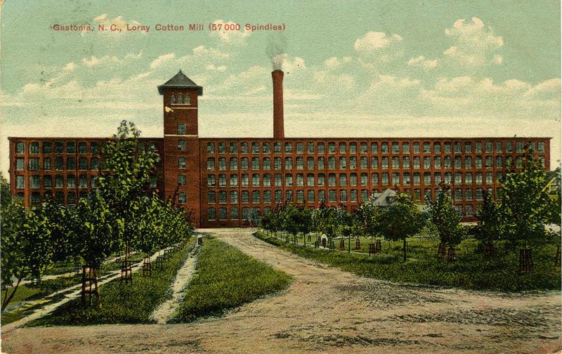 Loray Cotton Mill, Gastonia, North Carolina, ca. 1905-1915, courtesy of the North Carolina Collection Photographic Archives, Wilson Library, University of North Carolina at Chapel Hill.