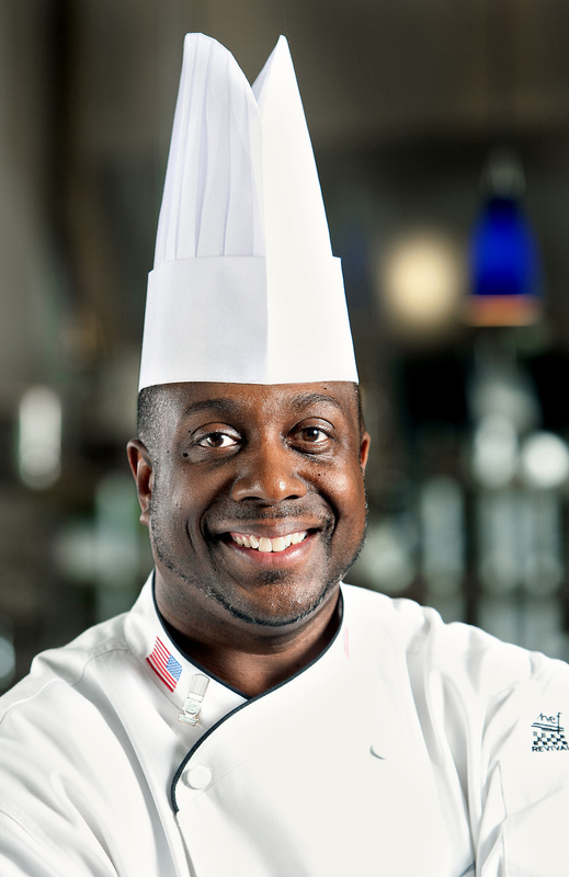 Kevin Mitchell, photograph by Mic Smith, 2011, courtesy of the Culinary Institute of Charleston.