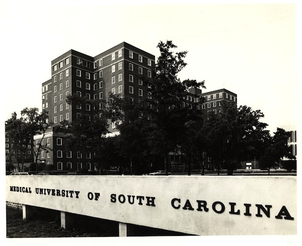 Medical University of South Carolina, Charleston, South Carolina, ca. 1971, courtesy of the Waring Historical Library, Medical University of South Carollina, Charleston.