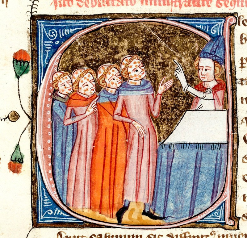 Omne Bonum, created by James le Palmer, London, England, ca. 1360-1375, courtesy of the British Library.