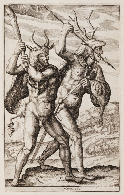 "<em>Germaniae antiquae libri tres</em>, drawing by Philipp Clüver, 1616, courtesy of the Houghton Library, Harvard University.<a title=""Houghton Library, Harvard University"" href=""http://houghtonlib.tumblr.com/"" target=""_blank""><br /></a>"