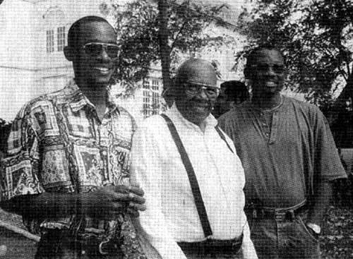 Bowens-Bowen Family Reunion at St. Lucy Parish Church, photograph, Barbados, 1996, courtesy of the <em>Post and Courier</em> and Drayton Hall.