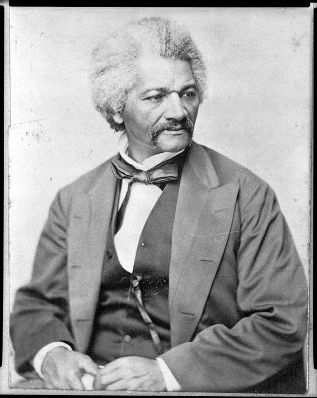 Frederick Douglass, ca. 1855, courtesy of Library of Congress Prints and Photographs Division.
