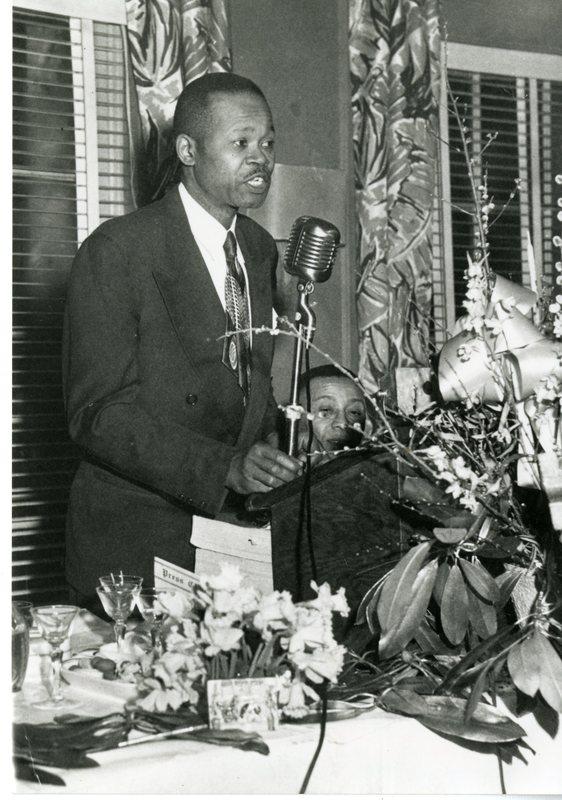 <p>John McCray, ca. 1945, courtesy of Avery Reserach Center.</p>
