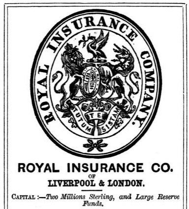The Royal Insurance Co., 1857, courtesy of the Internet Archive.