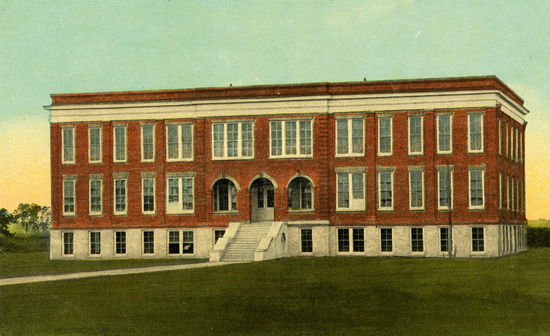Colored Industrial School, Charleston, South Carolina, postcard, ca. 1910, courtesy of Dart Family Papers, Avery Research Center.