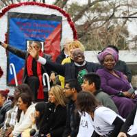 Parade participants attending the Martin Luther King Jr. Parade, photograph by Kerry Taylor, Charleston, South Carolina, January 16, 2017.