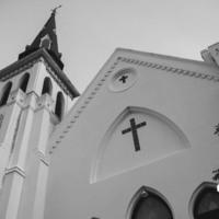 Mother Emanuel Church Steeple, photograph by Brandon Coffey, June 29, 2015, Charleston, South Carolina.