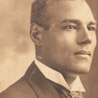 """Edwin """"Teddy"""" Harleston, Charleston, South Carolina, ca. 1900, courtesy of the Avery Research Center.  A noted painter and graduate of Avery's class of 1900, Harleston helped organize a branch of the NAACP in Charleston in 1917 after graduating from Atlanta University, where he met Dr. W. E. B. Du Bois. His father, Captain Edwin G. Harleston, opened the Harleston Funeral Home in Charleston in 1917, and they ran this business together until 1931."""