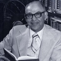 John F. Potts, Avery principal 1945-1954, courtesy of the Avery Research Center.