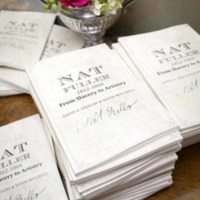 Invitations for Nat Fuller's Feast, photograph by Jonathan Boncek, Charleston, South Carolina, April 19, 2015.