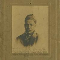 Portrait of Omar Ibn Said from <em>Autobiography of Omar Ibn Said, Slave in North Carolina</em>, John Franklin Jameson, 1831, courtesy of the University of North Carolina at Chapel Hill.