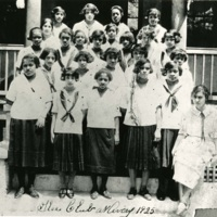 Members of the Girls' Glee Club, Charleston, South Carolina, 1925, courtesy of the Avery Research Center.