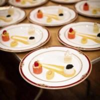 Dessert plate assortment, photograph by Jonathan Boncek, Charleston, South Carolina, April 19, 2015.