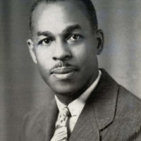 Samuel T. Washington, Avery principal 1944-1945, courtesy of the Avery Research Center.